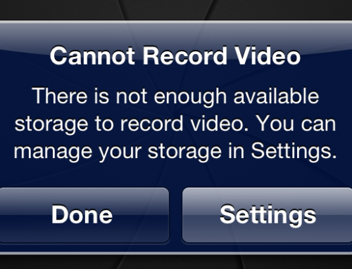 Tutorial: So your iPhone is out of storage space, what now?