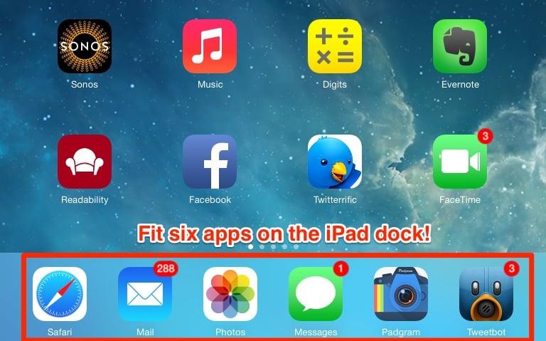 iPad Dock Tricks