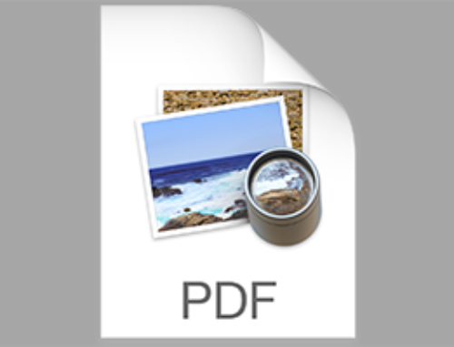Mac Tip: Print To PDF Keyboard Shortcut