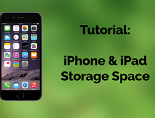 Tutorial: What's Filling Up My iPhone or iPad?